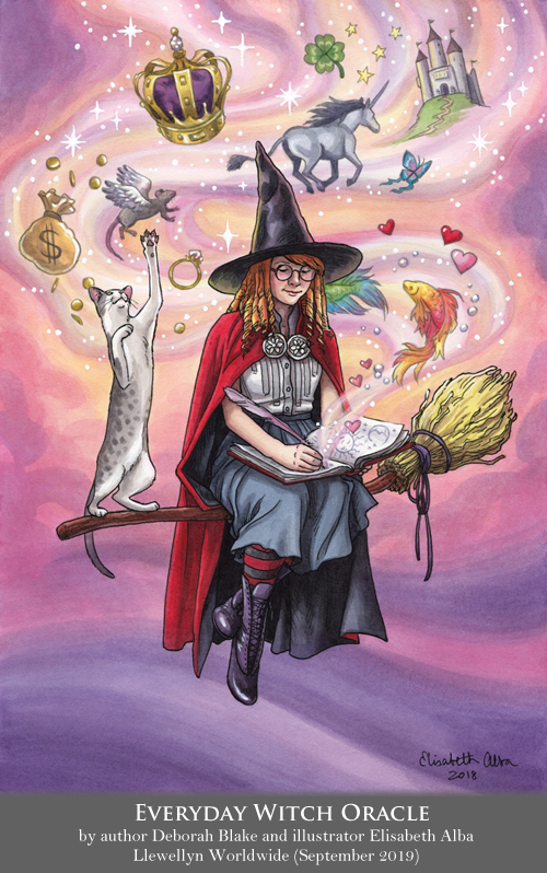 Everyday Witch Oracle - Imagine and Envision